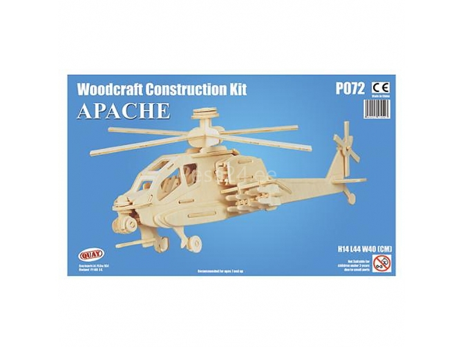 3D puzzle Apache Helikopter