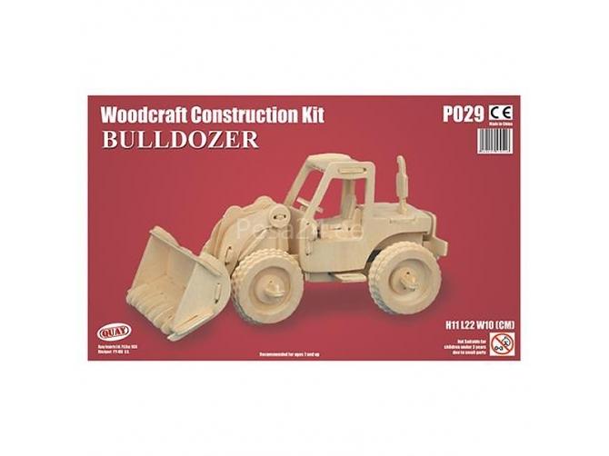 3D puzzle Buldooser