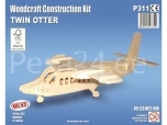 3D puzzle Twin Otter