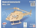 3D puzzle Bell 206