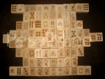 Puuklotsidest mäng Mahjong 144 tk