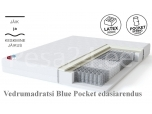 Vedrumadrats Blue Pocket Plus 80x200x19 Sleepwell