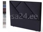 Peatsiots GEOMETRY Black sarjale 161x131x12,5 Sleepwell