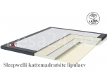 Kattemadrats TOP Latex Lux 160x200x7 kangaga Sleepwell