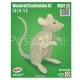 3D puzzle Hiir