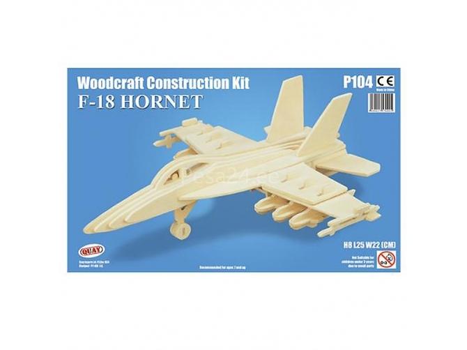 3D puzzle F-18 Hornet