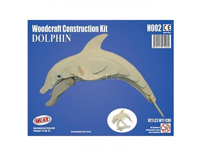 3D puzzle Delfiin