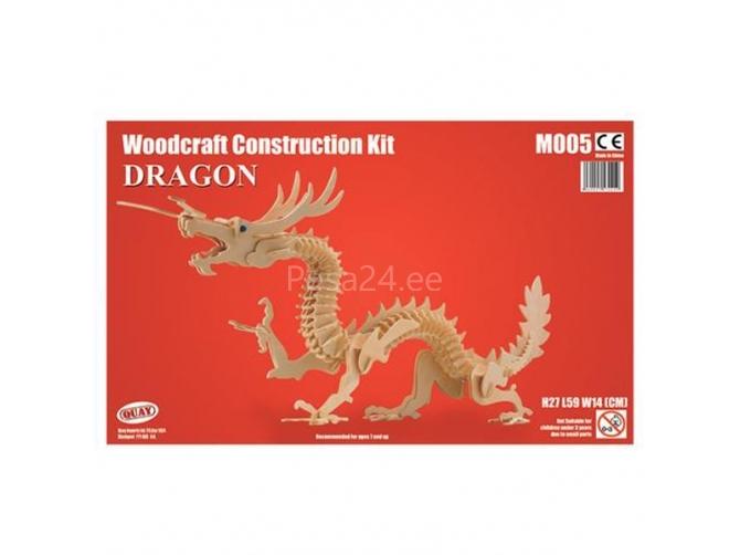 3D puzzle Draakon