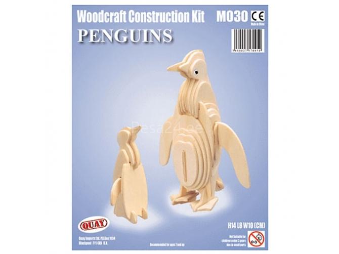 3D puzzle Pingviinid