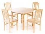Laud ja 4 Peer tooli