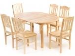 Laud ja 6 Peer tooli