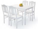 Laud Per 120x70 toolidega valge