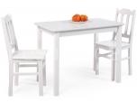 Laud Tim 100x60 toolidega valge