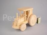 Puidust traktor, väike