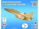 3D puzzle Fighting Falcon