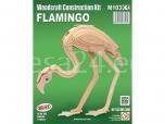 3D puzzle Flamingo