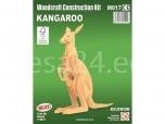 3D puzzle Känguru