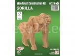 3D puzzle Gorilla