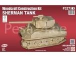 3D puzzle Sherman tank
