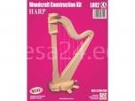 3D puzzle Harf