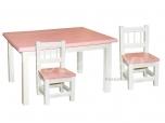 Lastelaud Miki 100x70 + 2 tooli