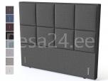 Peatsiots KRONANG Black sarjale 121x130x12 Sleepwell