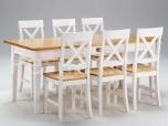 Laud Monaco(2) + 6 tooli, erinevad toonid