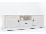 Tv-laud Family-3 kahe ukse ja sahtliga valge