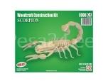 3D puzzle Skorpion