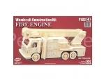 3D puzzle Tuletõrjeauto