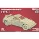3D puzzle Ferrari F40 GT