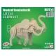 3D puzzle Väike elevant